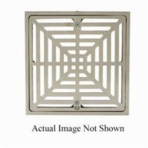 Tomahawk 861 Square Floor Sink Grate, Cast Iron