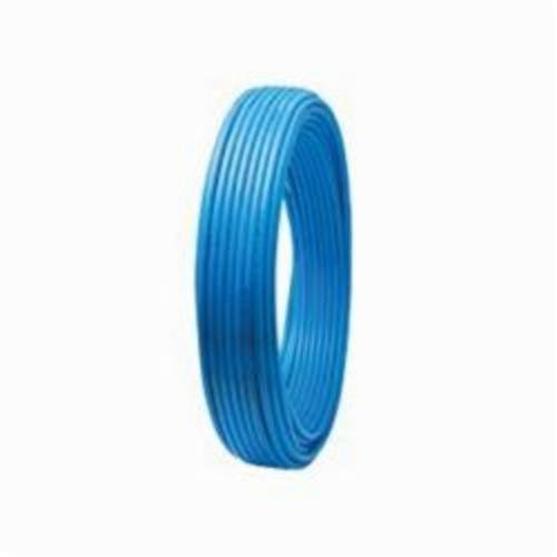 Tomahawk PowerPEX 665 Type B Tubing, 1/2 in, 5/8 in OD x 100 ft L, Blue, Silane Graft, PEX, Domestic