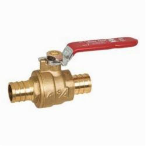 Tomahawk PowerPEX 648 Ball Valve, 1/2 in, PEX F1807 Crimp, Brass