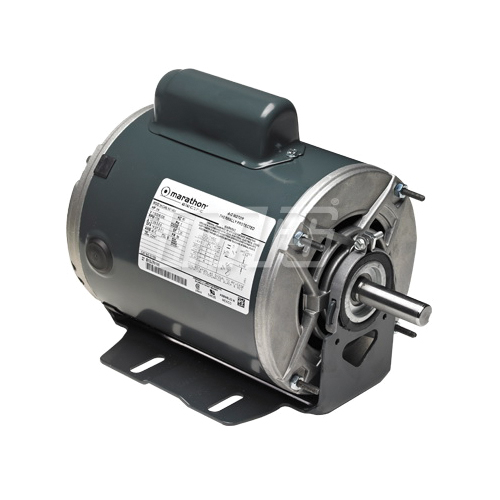 Marathon by Mars C1158 Capacitor Start Fan and Blower Motor, 115/208 to 230 VAC, Frame: NEMA 56, 1 hp, 1725 rpm