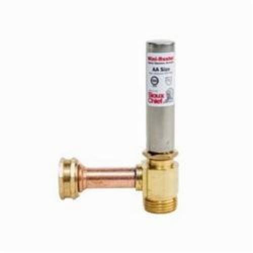 Tomahawk MiniRester 660 Water Hammer Arrester With Tee, 3/4 in, Female Swivel Hose Threaded x Male Hose Threaded