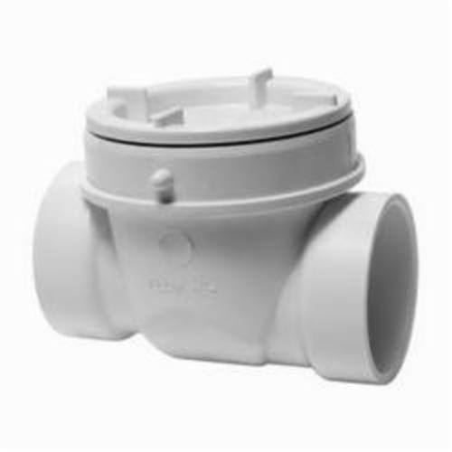 Tomahawk 869 DWV Backwater Valve, 2 in, PVC, Domestic