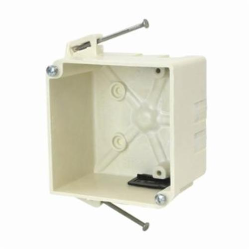 Allied Molded 9343-NK Junction Box With Non-Metallic Sheathed Cable, Polyester BMC, 32.3 cu-in, 2 Gangs, 6 Knockouts