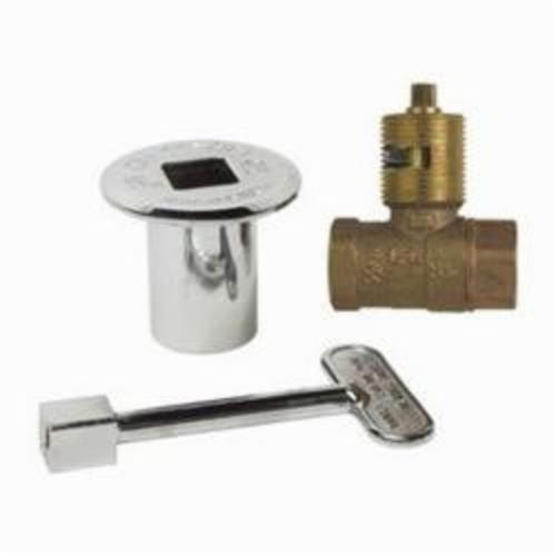 Tomahawk HearthMaster 954 Straight Gas Ball Valve, FNPT, Brass