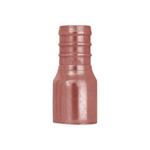 Tomahawk 643X3 1-Piece Straight Adapter, 3/4 in, F1807 PowerPEX Crimp x Male C, Copper, Domestic