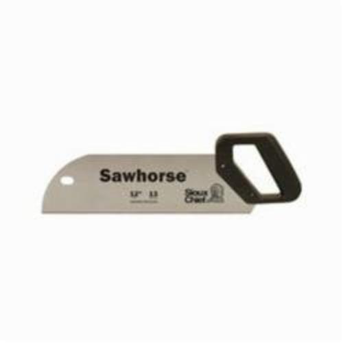 Tomahawk SawHorse 300-12 Hand Saw With Teeth Protector, 12 in L Hardened Steel Blade