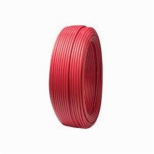 Tomahawk PowerPEX 665 Type B Tubing, 1/2 in, 5/8 in OD x 100 ft L, Red, Silane Graft, PEX, Domestic