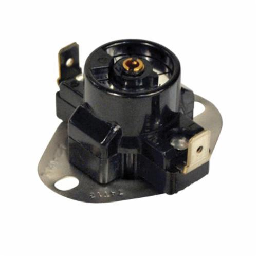Mars 39225 Adjustable Fan Limit Thermostat, Open-on-Rise, 40 deg F Differential, 175 to 215 deg F, Import