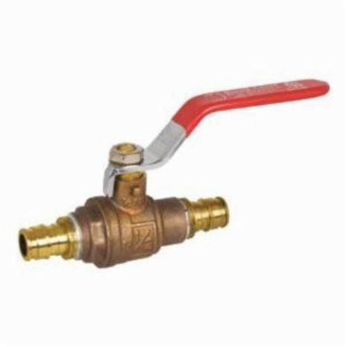 Tomahawk PowerPEX 648 Lead Free Ball Valve, 3/4 in, PEX, Brass, Full Port