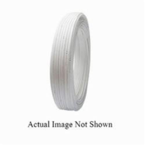 Tomahawk PowerPEX 665 Type B Tubing, 1/2 in, 5/8 in OD x 100 ft L, White, Silane Graft, PEX, Domestic