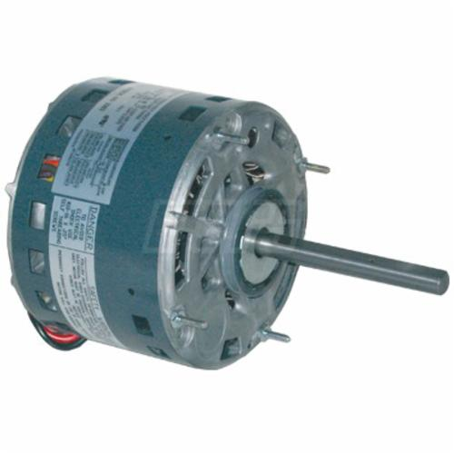 Genteq by Mars 039 PSC Direct Drive Furnace Blower Motor, 208/230 VAC, 4.4 A, NEMA 48, 3/4 hp, 1075 rpm