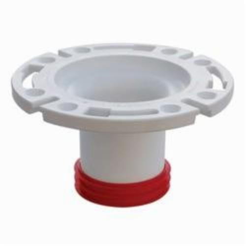 Tomahawk PushTite 888 Open Closet Flange, 3 in, SCH 40/STD, ABS, Domestic