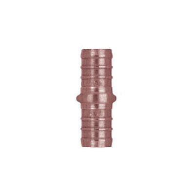 Tomahawk 645X2 1-Piece Hose Coupling, 1/2 in, F1807 PowerPEX Crimp, Copper, Domestic