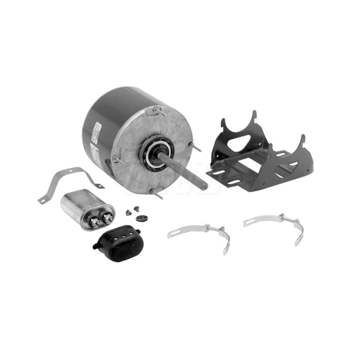 Genteq by Mars 3206 PSC Direct Drive Fan/Blower Motor, 115 VAC, 2.36 A, Frame: NEMA 48, 1/6 hp, 1075 rpm