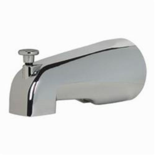 Tomahawk SmartSpout 972 Shower Diverter Tub Spout, Copper, Chrome Plated