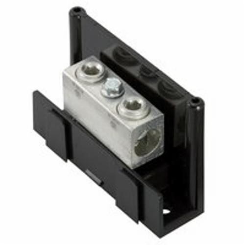 ILSCO ClearChoice PDA-11-2/0-1 Type PDA Power Distribution Block, 600 VAC, 175 A, 14 to 2/0 AWG Wire, Aluminum