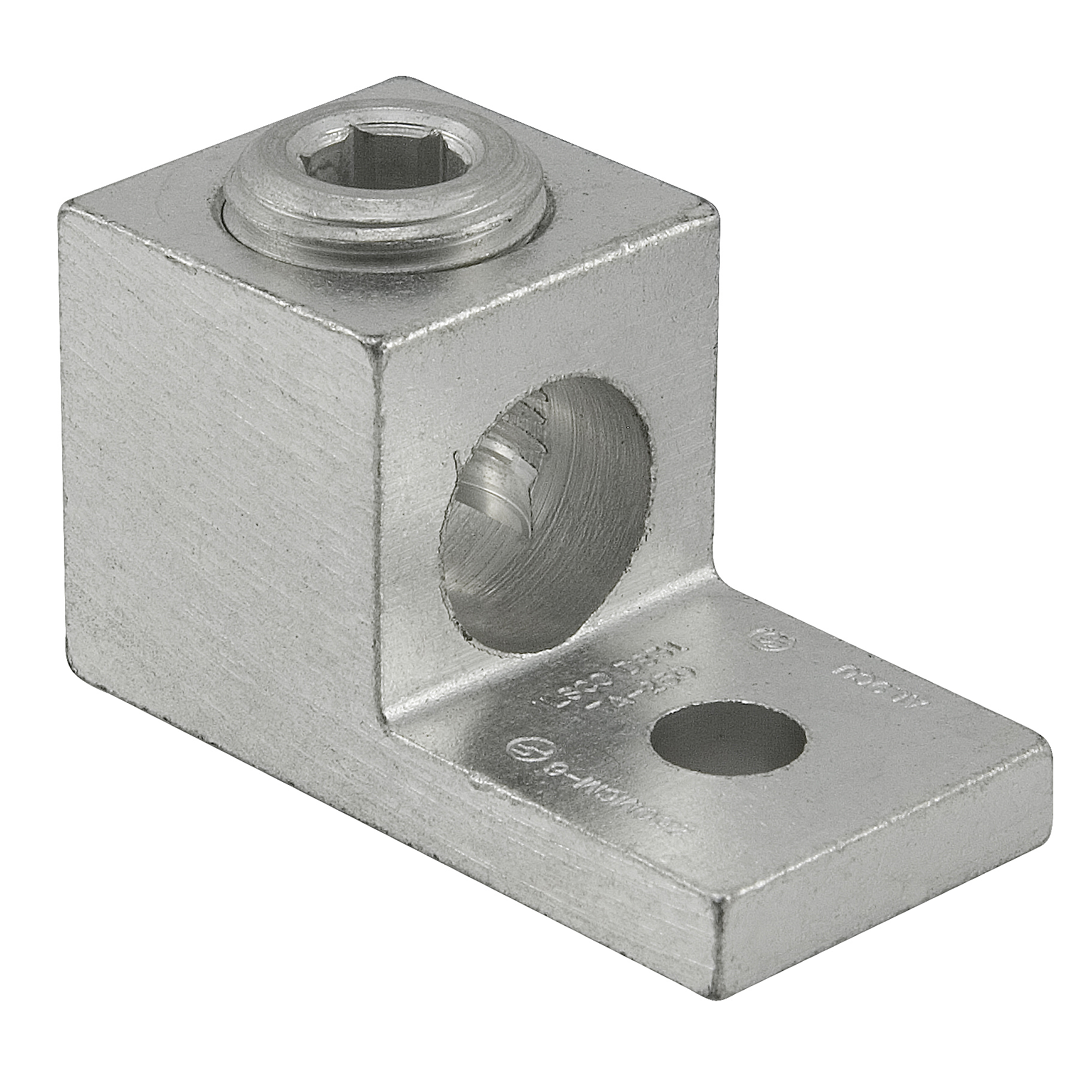Products Ilsco Elt C Tap Compression Connector Shape 2 0 1 Copper Pigtailing Aluminum Wiring Ta Series Dual Rated Mechanical Terminal Lug 6 Awg To 250 Kcmil Conductor 5 16 In Stud