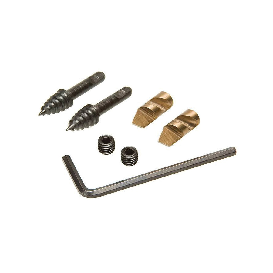 Greenlee Naileater PTR-7/8 Auger Tip Replacement Kit, For Use With Nail Eater Auger Bit 7/8 in, 4 D Chain, Steel