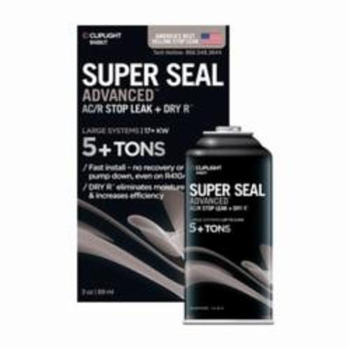 CLIPLIGHT Super Seal Advanced 948KIT Large System Leak Sealant, 5 ton Can Container, Liquid, Clear