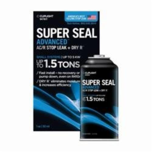 CLIPLIGHT Super Seal Advanced 947KIT Small System Leak Sealant, Can, Liquid, Clear