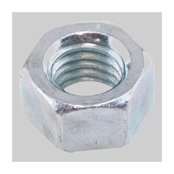 Diversitech Devco 6505 Finished Hex Nut, Imperial, 1/2-13, Steel, Zinc Plated