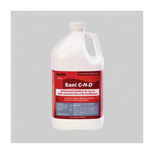 Diversitech Sani C-N-D SANI-CND Coil and Drain Pan Disinfectant, 1 gal Container, Liquid