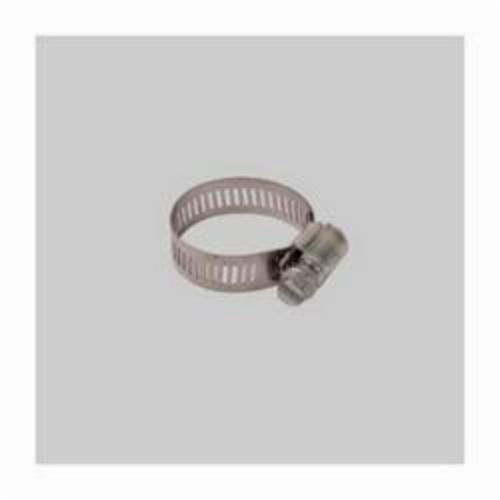 Diversitech Devco HC5416 Hose Clamp, SAE NO 16 Hose, 3/4 to 1-1/2 in OD, Stainless Steel Band