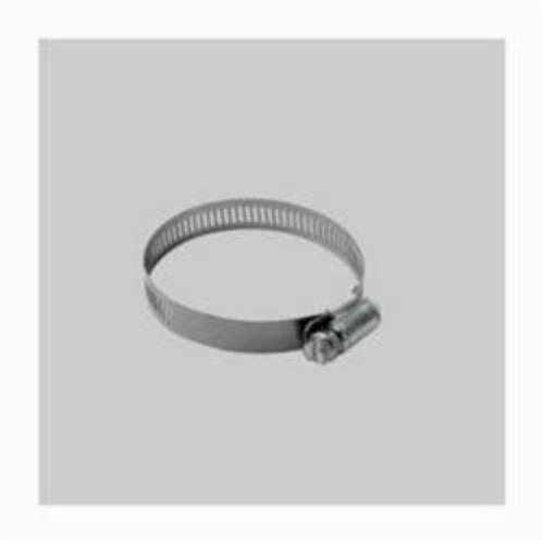 Diversitech Devco HC6203 Hose Clamp, 5/16 to 7/8 in, Stainless Steel Band, Steel Bolt, Plated