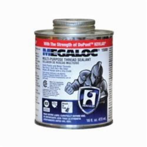 Hercules Megaloc 15808 High Performance Thread Sealant, Can 16 oz Container, Liquid Paste, Blue