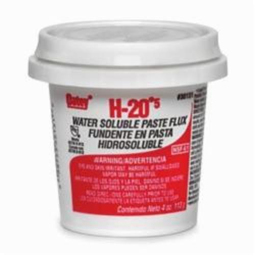 Oatey H-205 30131 Water Soluble Pipe Flux, 4 oz, 8 g/L, 30000 to 50000 cP, 3 to 4 pH