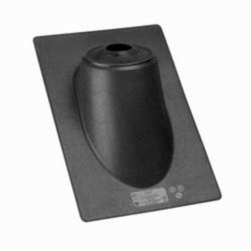 Oatey High-Rise All-Flash No-Calk 11931 Roof Flashing, 20 in L x 13 in W Base, 3 to 4 in Pipe, Thermoplastic