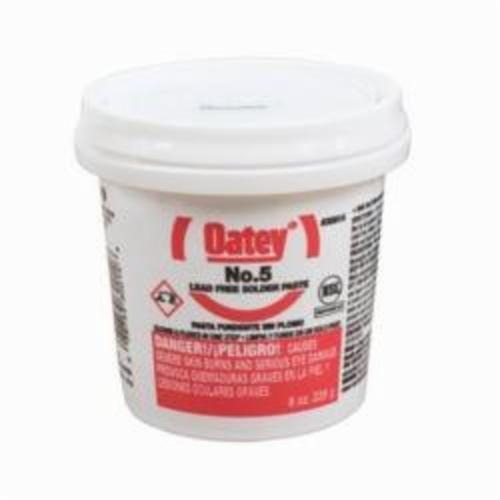 Oatey 30014 Pipe Flux, 8 oz, Pail, 29 g/L, 20000 to 40000 cP, 3 to 4 pH