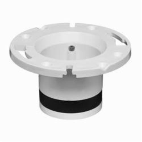 Oatey 43539 Replacement Closet Flange, 4 in Pipe, Plastic/PVC