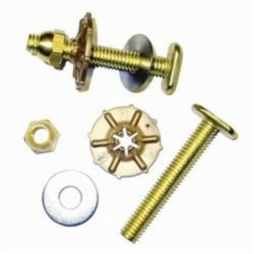 Hercules Johni Quick Bolt 90905 Closet Bolt, For Use With Water Closet Base, Brass