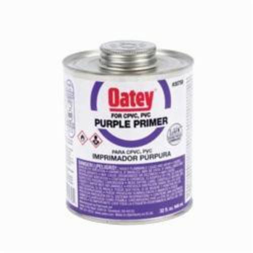 Oatey 30758 Primer, For Use with PVC and CPVC Pipe and Fitting, Purple, 32 oz
