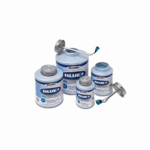 RectorSeal Blue 31553 Non-Setting Pipe Thread Sealant, Can 0.5 pt Container, Paste, Blue, 1.32 Specific Gravity