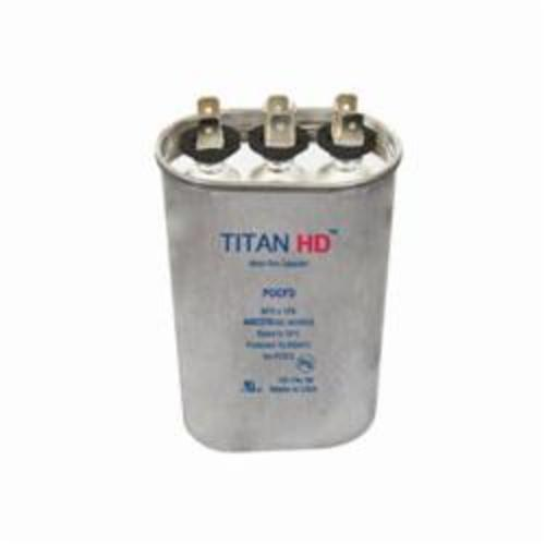 TITAN HD by Packard POCFD2515A Motor Run Capacitor, 25/15 uF, 440 VAC, Aluminum Case, Domestic