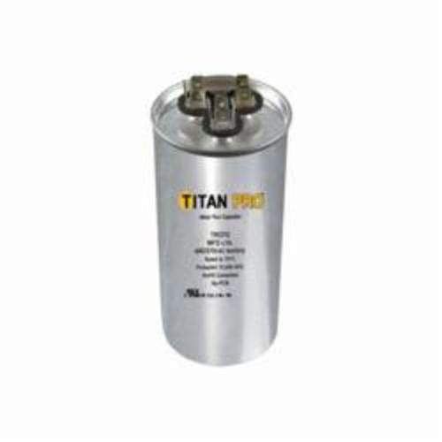TITAN PRO 370 by Packard TRCFD2015 Dual Section Motor Run Capacitor, 20/15 uF, 440 VAC, Aluminum Case