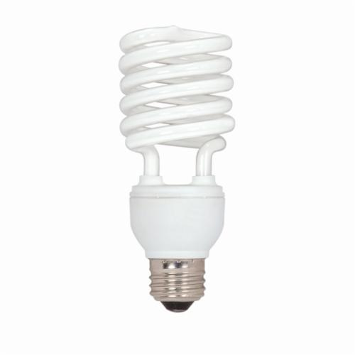 SATCO S7233 Ultra Compact Fluorescent Lamp, 26 W, Compact Fluorescent Lamp, E26 Medium Lamp Base, T2 Mini Spiral Shape