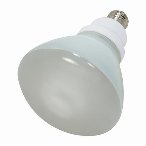 SATCO S7241 Reflector Spiral Compact Fluorescent Lamp, 23 W, CFL Lamp, E26 Lamp Base, R40 Shape, 1090 Lumens