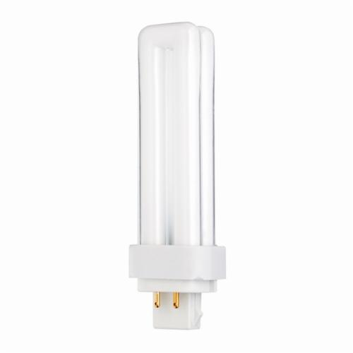 SATCO S8331 Double Twin Compact Fluorescent Lamp, 13 W, CFL Lamp, G24q-1 Lamp Base, T4 Shape, 900 Lumens