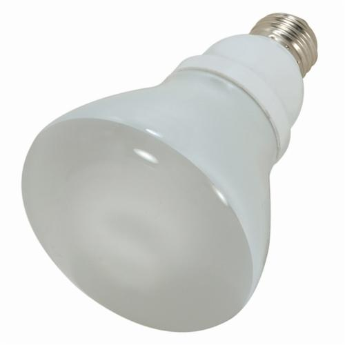 SATCO S7249 Reflector Spiral Compact Fluorescent Lamp, 15 W, CFL Lamp, E26 Lamp Base, R30 Shape, 700 Lumens