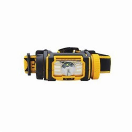 DeWALT DWHT70440 Jobsite Headlamp, LED Bulb, ABS Housing, 104 Lumens