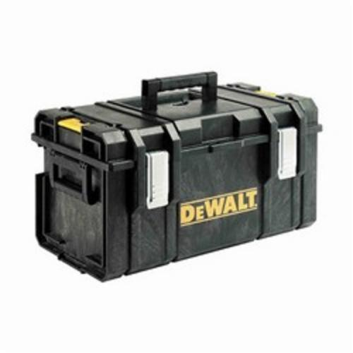 DeWALT ToughSystem DWST08203 Large Weather Resistant Tool Case, 12 in H x 21 in W