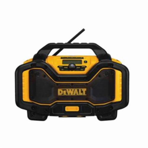 DeWALT 20V MAX* FLEXVOLT Cordless Bluetooth Charger Radio, 120 VAC/20/60 VDC, Lithium-Ion Battery