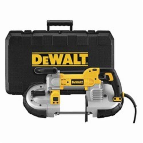 DeWALT DWM120K Deep Cut Band Saw Kit, 5 in Round, 5 x 4-3/4 in Rectangle Cutting, 120 VAC, 350 rpm