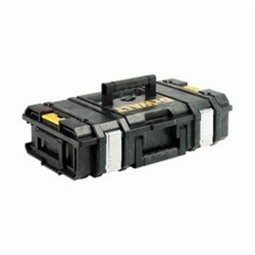 DeWALT ToughSystem DWST08201 Small Weather Resistant Tool Case, 6 in H x 21 in W