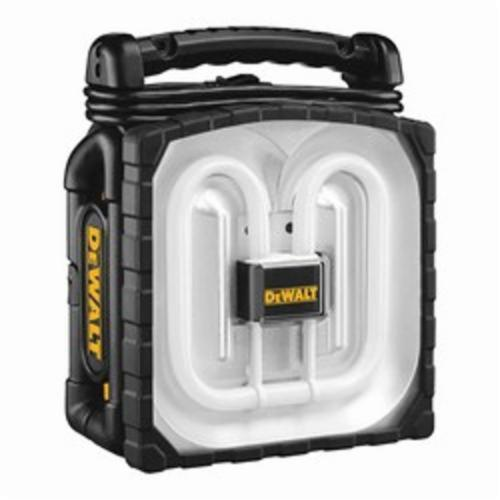 DeWALT DC020 Cordless/Corded Worklight, Fluorescent, 12 to 18 VDC