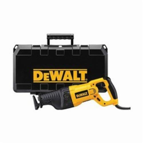 DeWALT DW311K Reciprocating Saw Kit, 0 to 2700 spm, Orbital Cutting