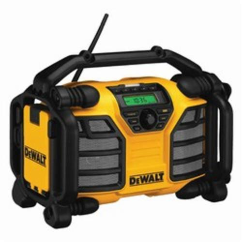 DeWALT DCR015 Bare Tool Rechargeable Cordless Worksite Charger Radio, 12 V, 3 Ah Lithium-Ion Battery